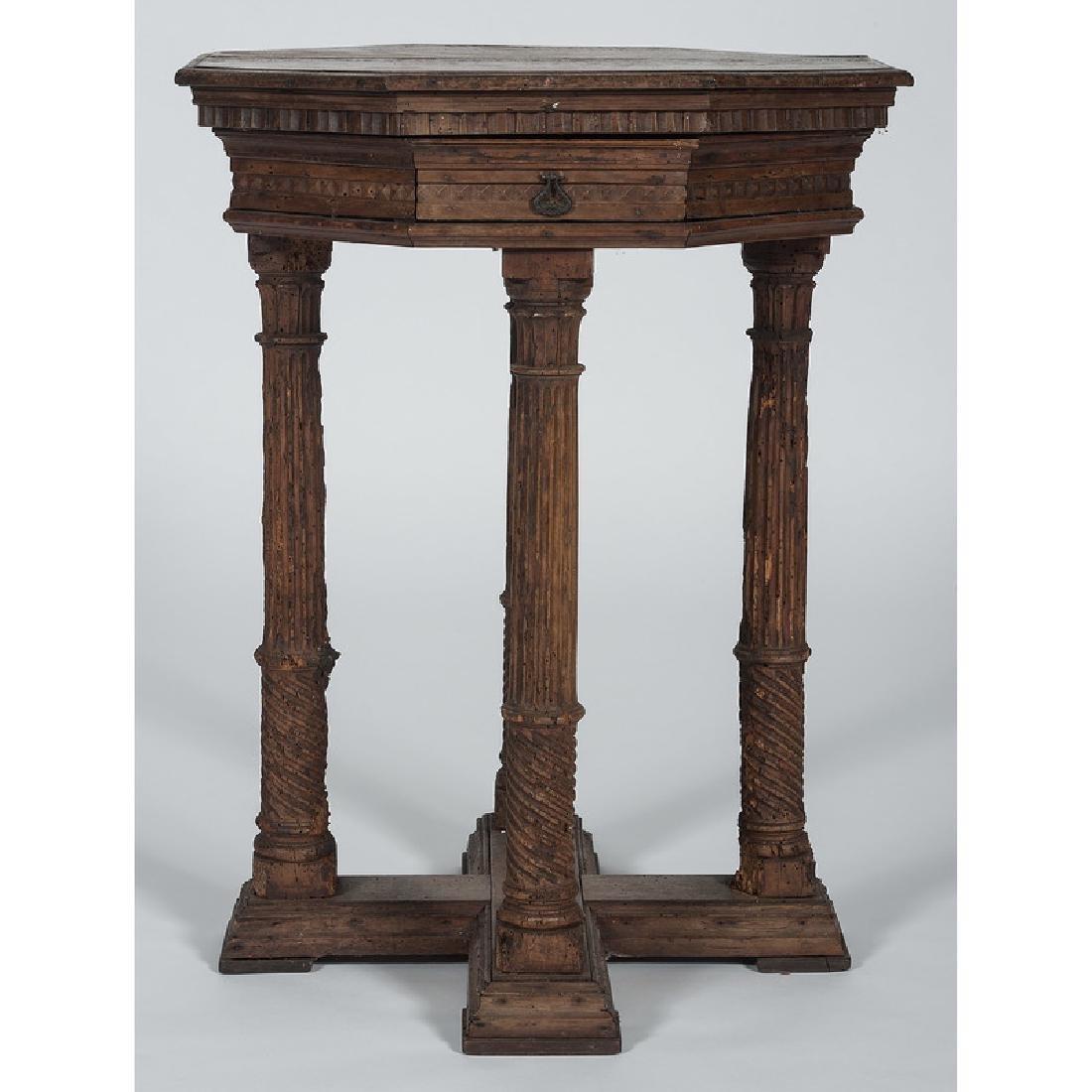 Italian Renaissance-style Octagonal Side Table