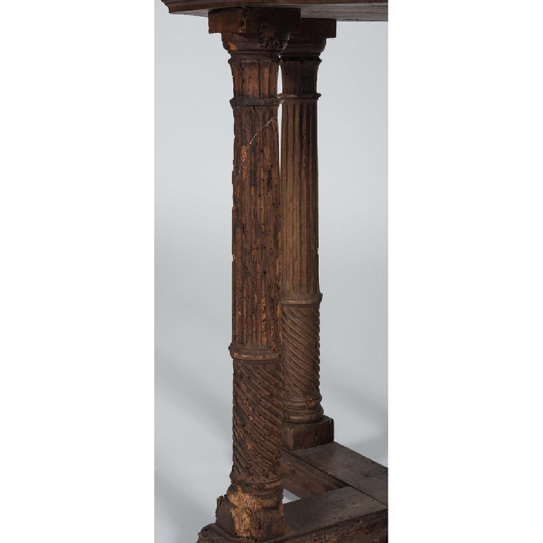 Italian Renaissance-style Octagonal Side Table - 4