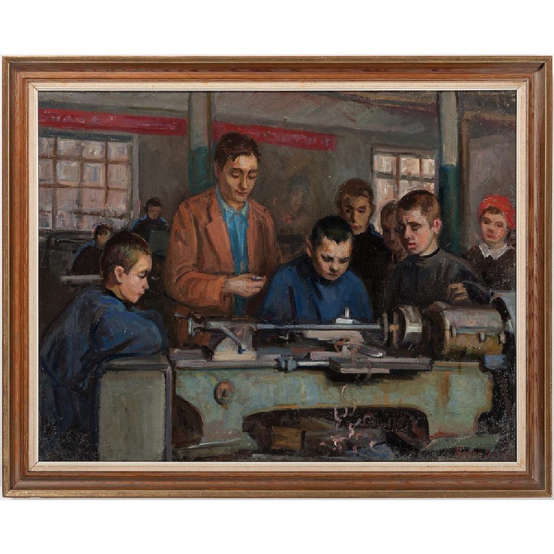 Russian Soviet Era Painting