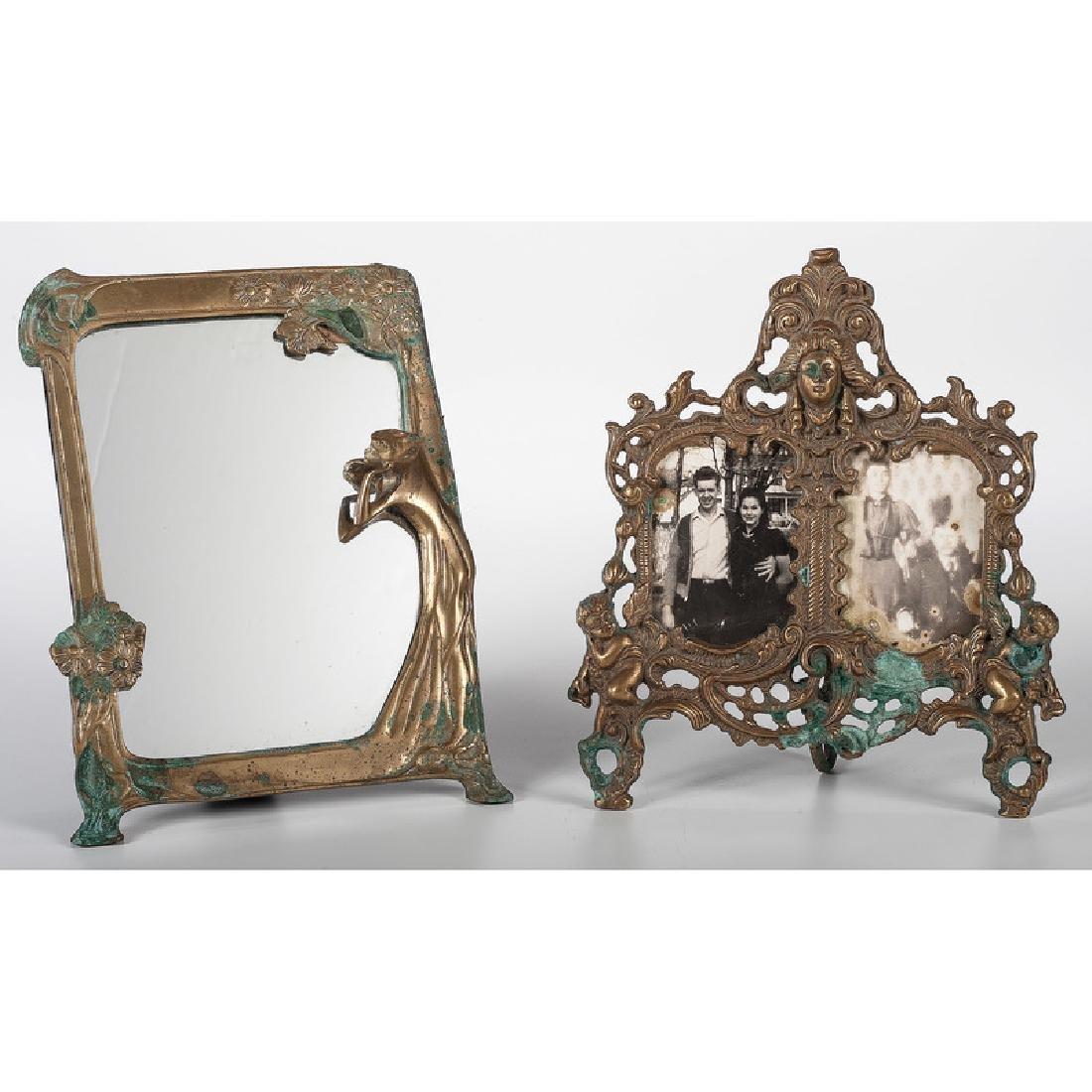 Art Nouveau Mirror, Plus
