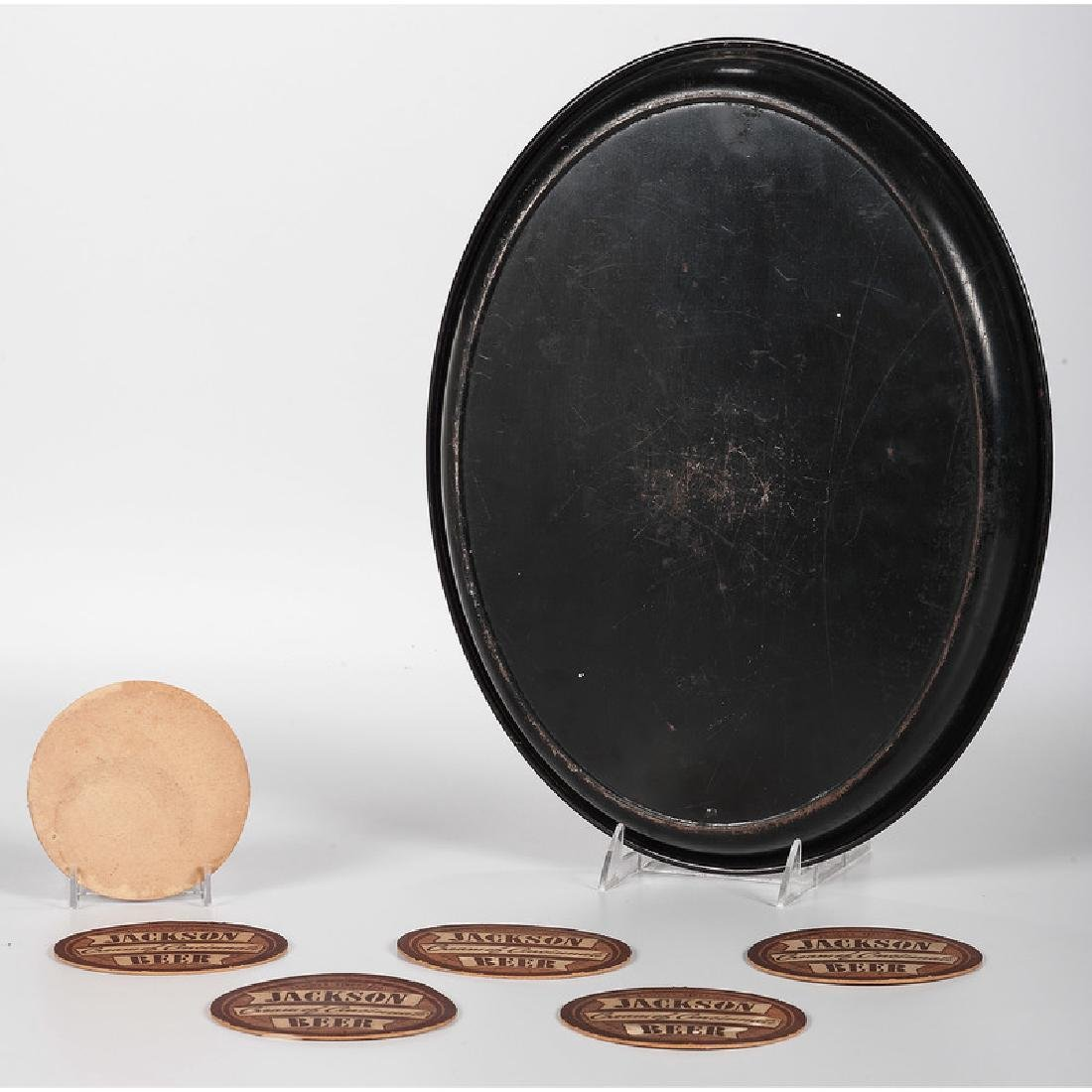Jackson Brewing Co. Tray and Coasters - 2
