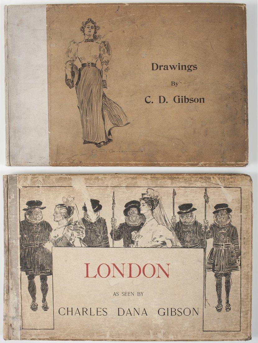 Charles Dana Gibson (1867-1944) Illustrated Books