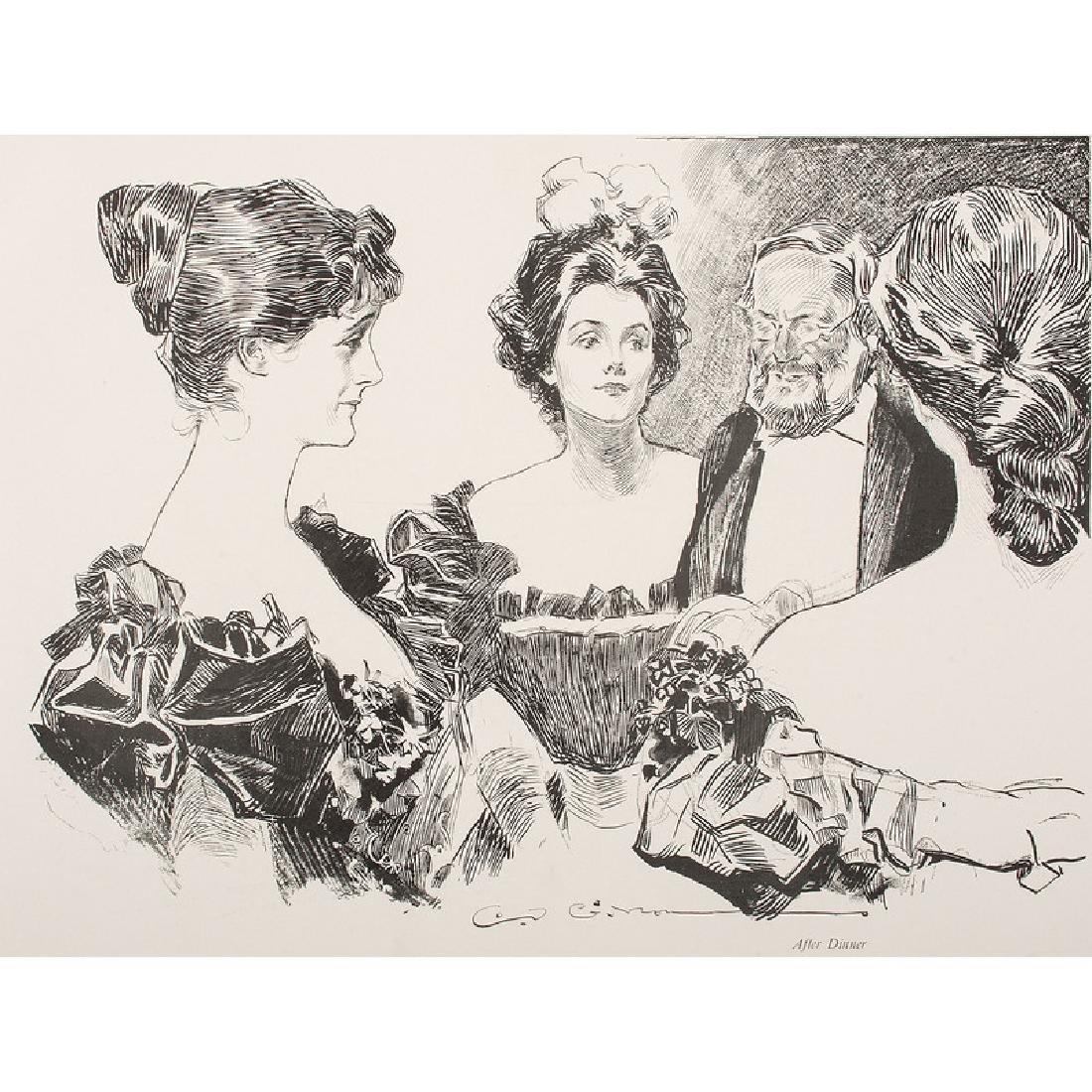 Charles Dana Gibson (1867-1944) Illustrated Books - 2