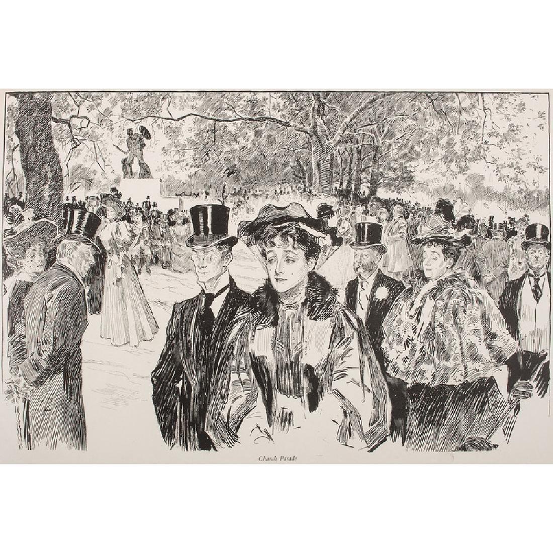Charles Dana Gibson (1867-1944) Illustrated Books - 3