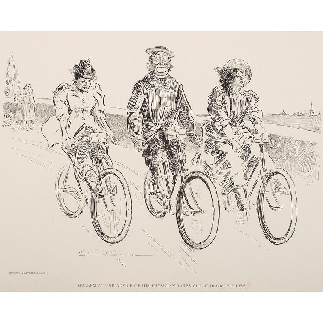 Charles Dana Gibson (1867-1944) Illustrated Books - 5