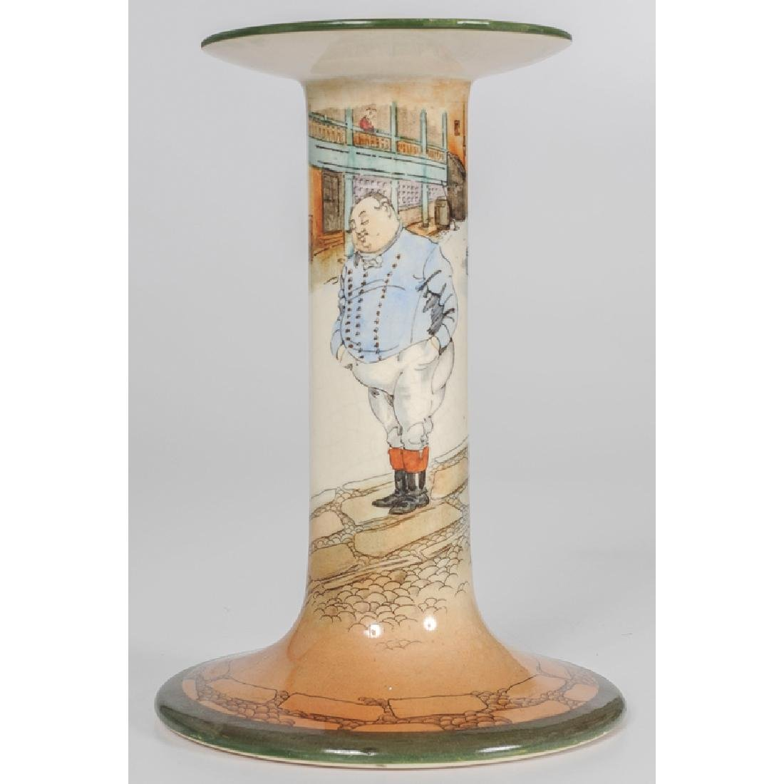 Royal Doulton Dickens, The Fat Boy Candlestick