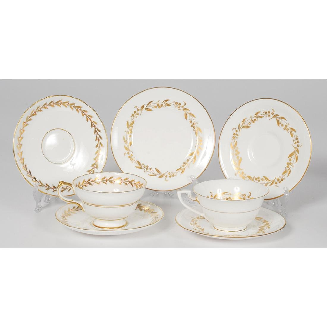 Worcester and Copeland Porcelain Tea Sets
