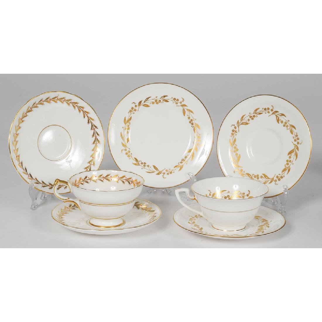 Worcester and Copeland Porcelain Tea Sets - 2