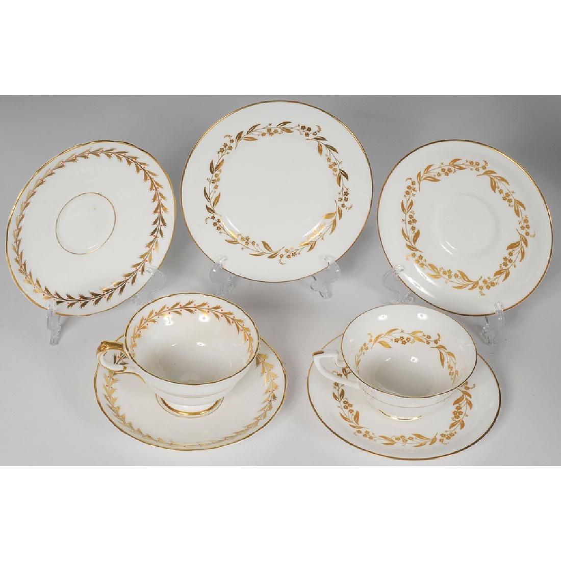 Worcester and Copeland Porcelain Tea Sets - 3
