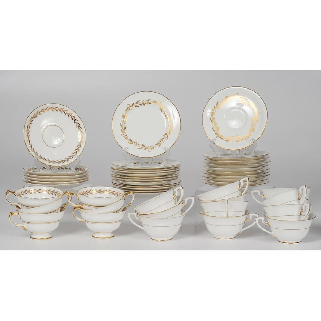 Worcester and Copeland Porcelain Tea Sets - 5