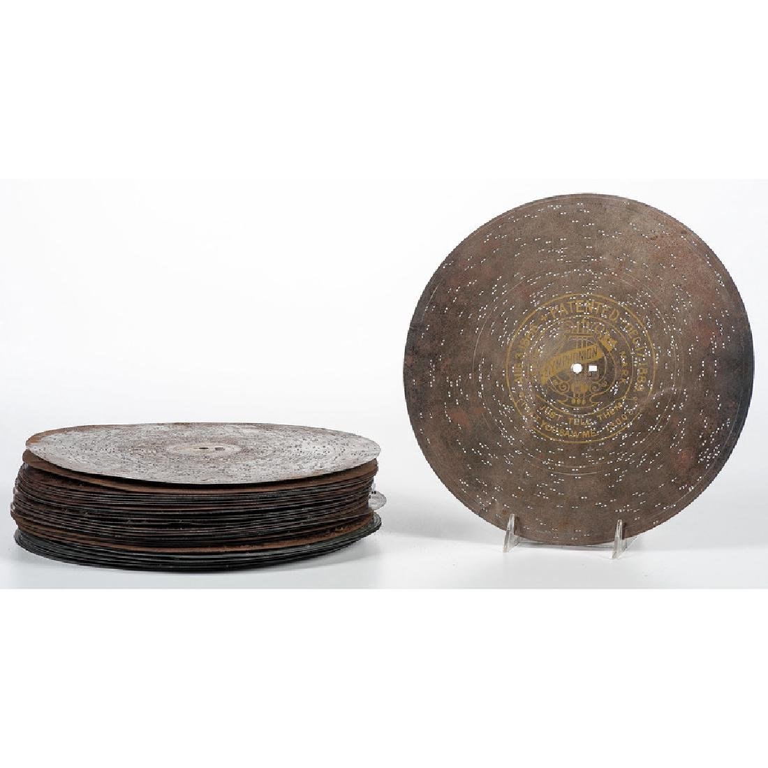 Group of 11.75-Inch Music Box Discs