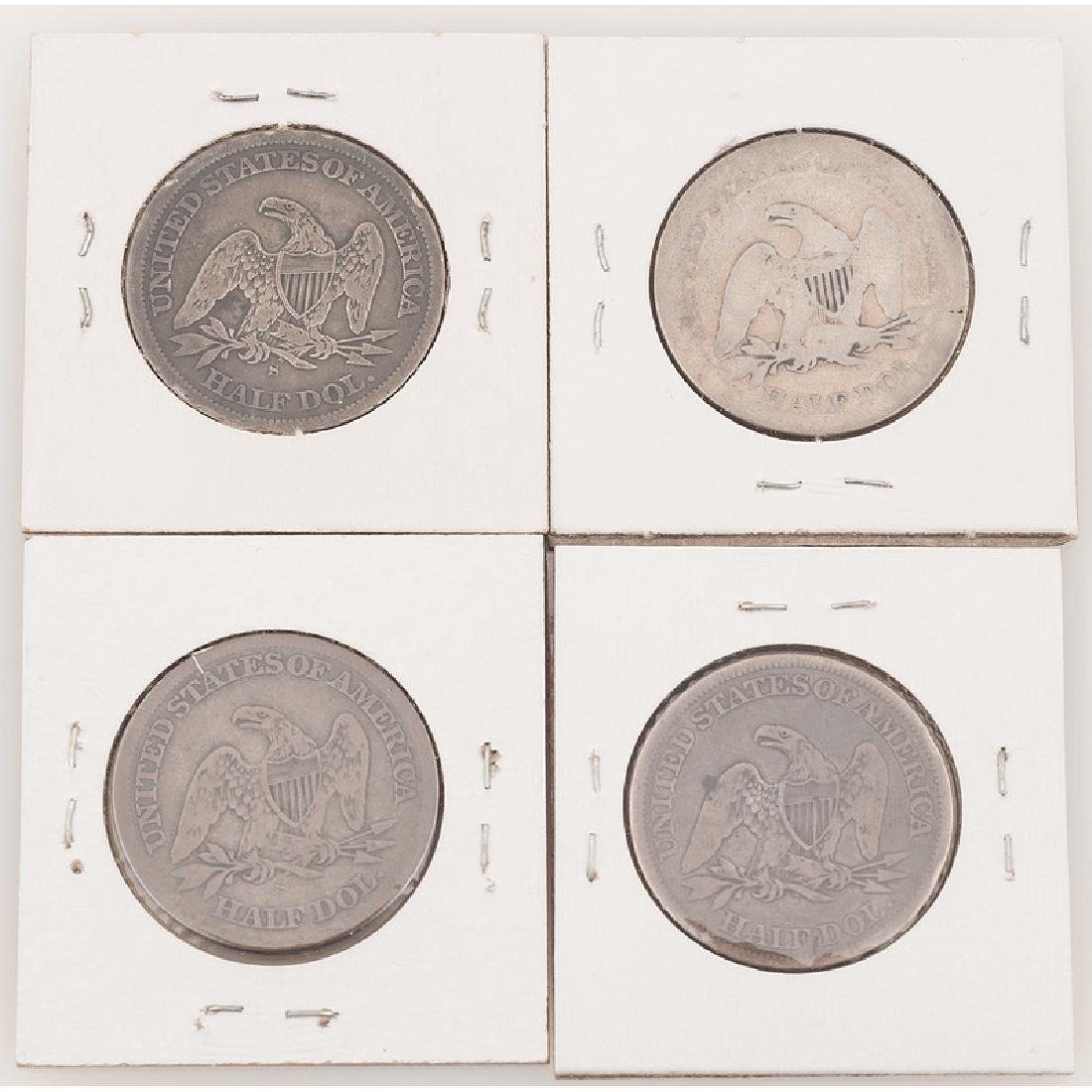 United States Liberty Seated Half Dollars 1863-1864 - 2