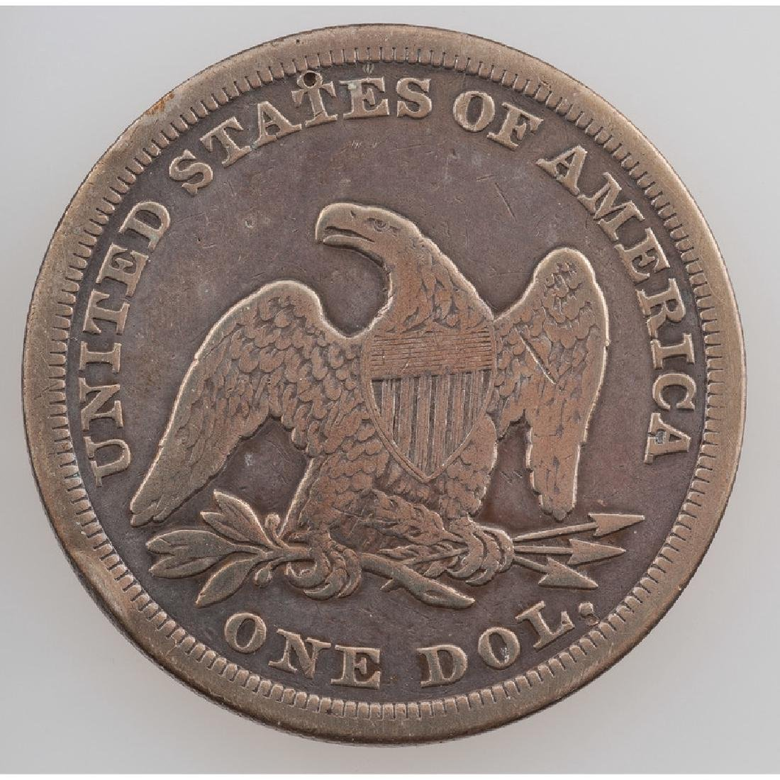 United States Liberty Seated Silver Dollar 1847 - 2