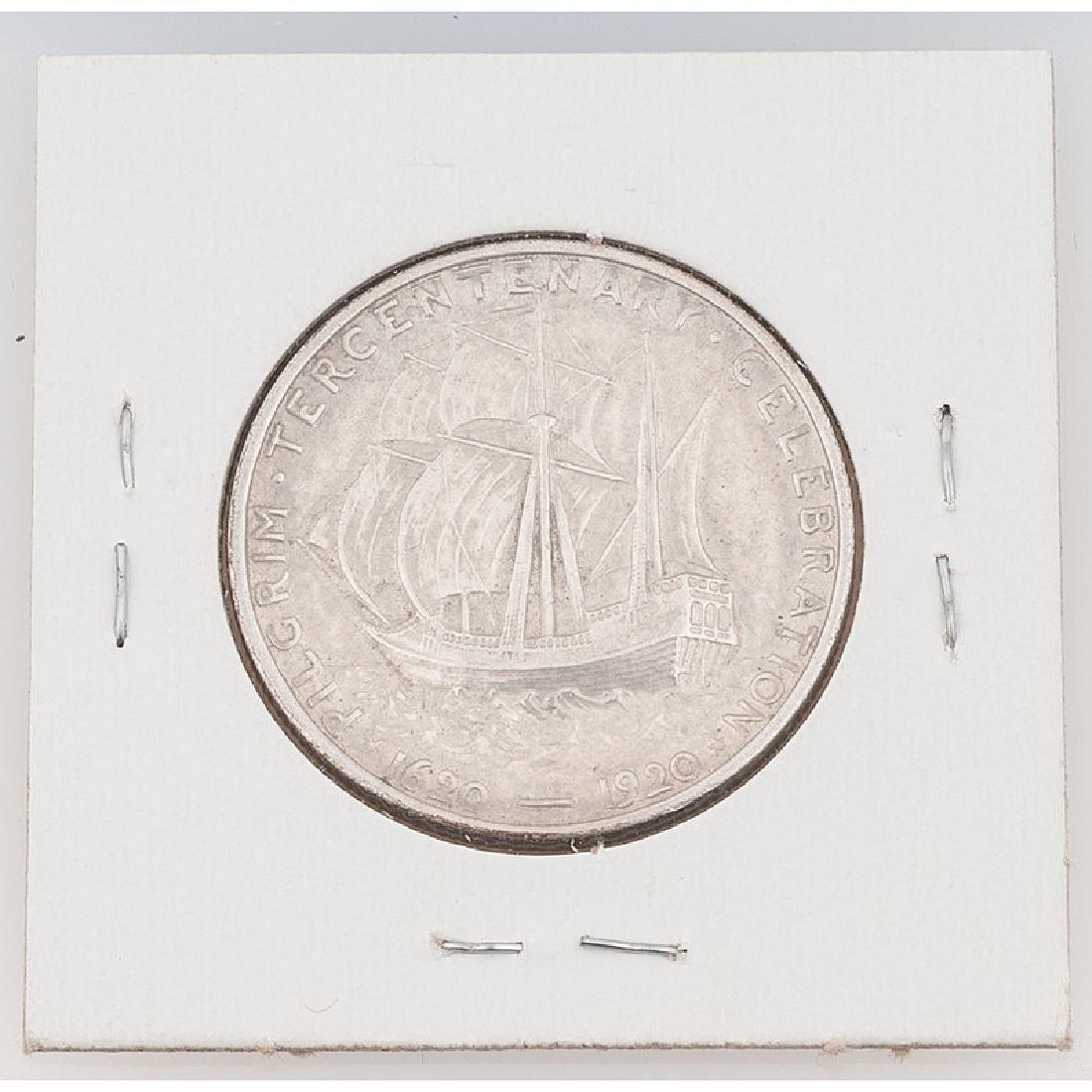 United States Commemorative Pilgrim Tercentenary Half - 2