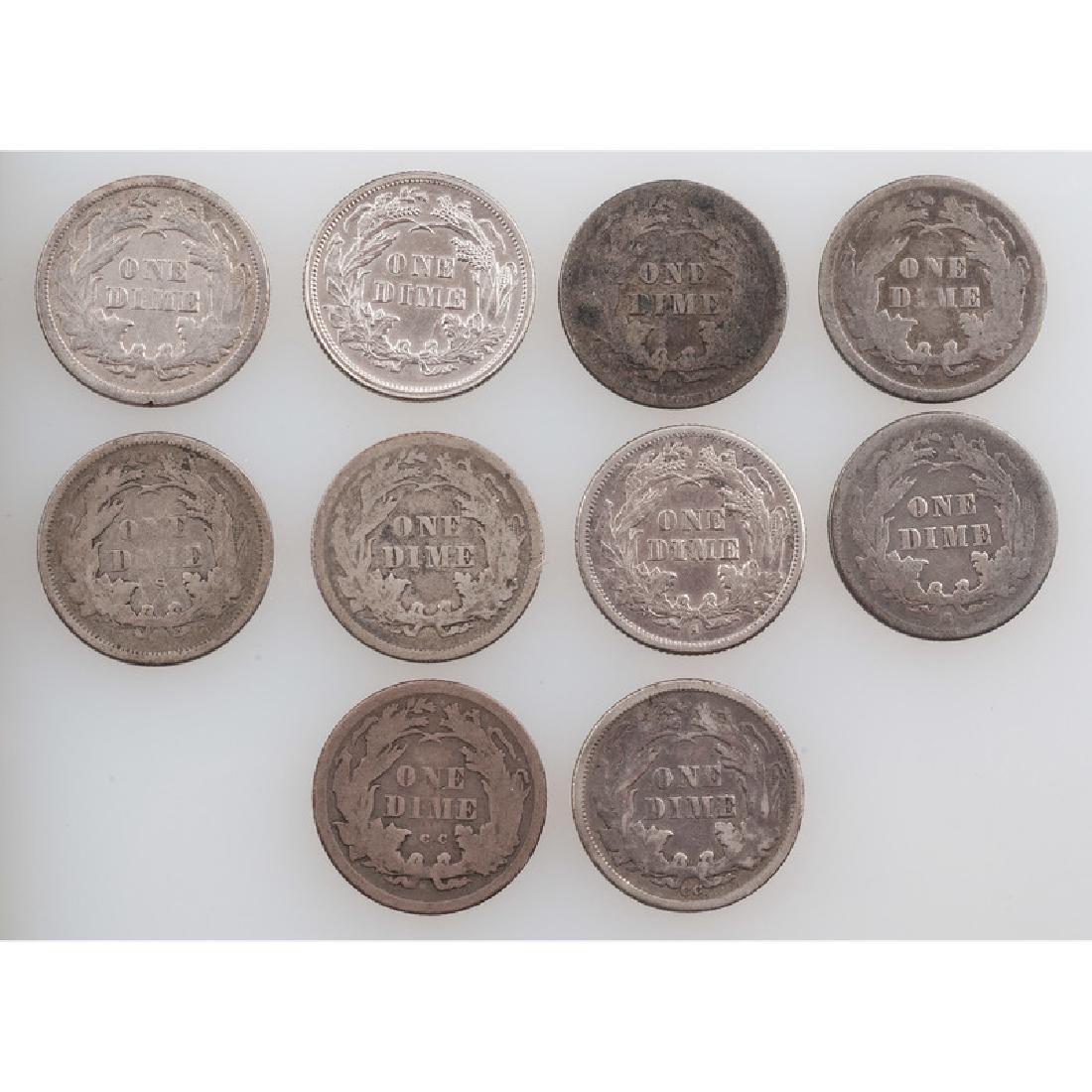 United States Liberty Seated Dimes 1874-1877 - 2