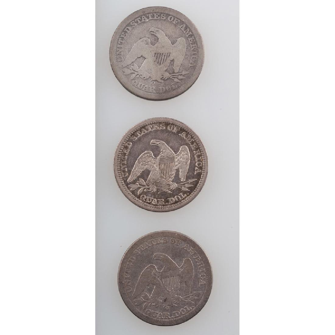 Liberty Seated Quarter Dollars 1841-1842 - 2