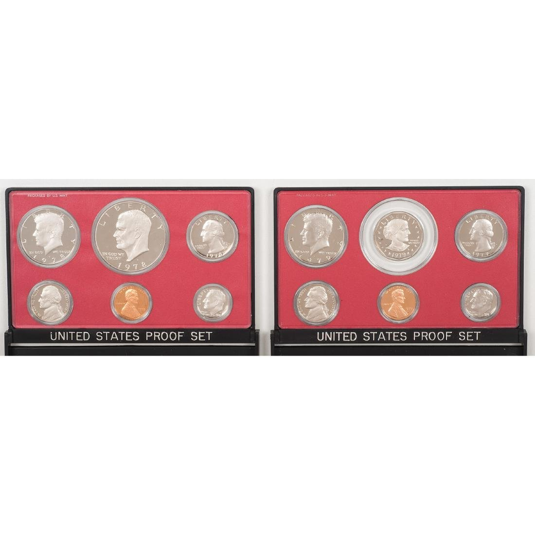 United States Proof Sets 1958-2004