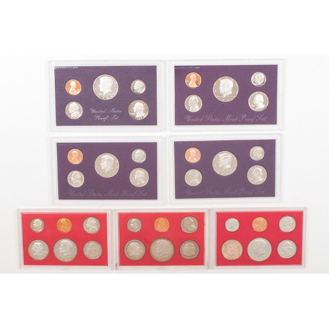 United States Proof Sets 1958-2004 - 3