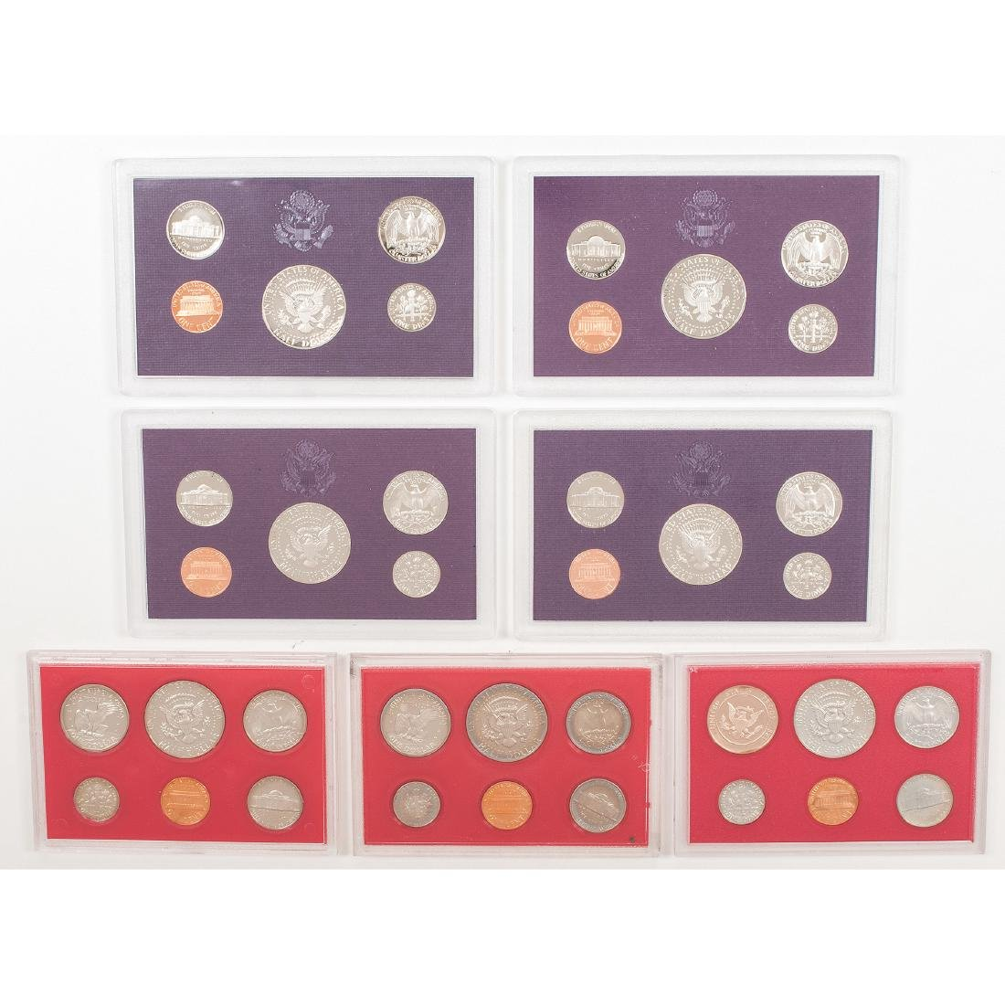 United States Proof Sets 1958-2004 - 4