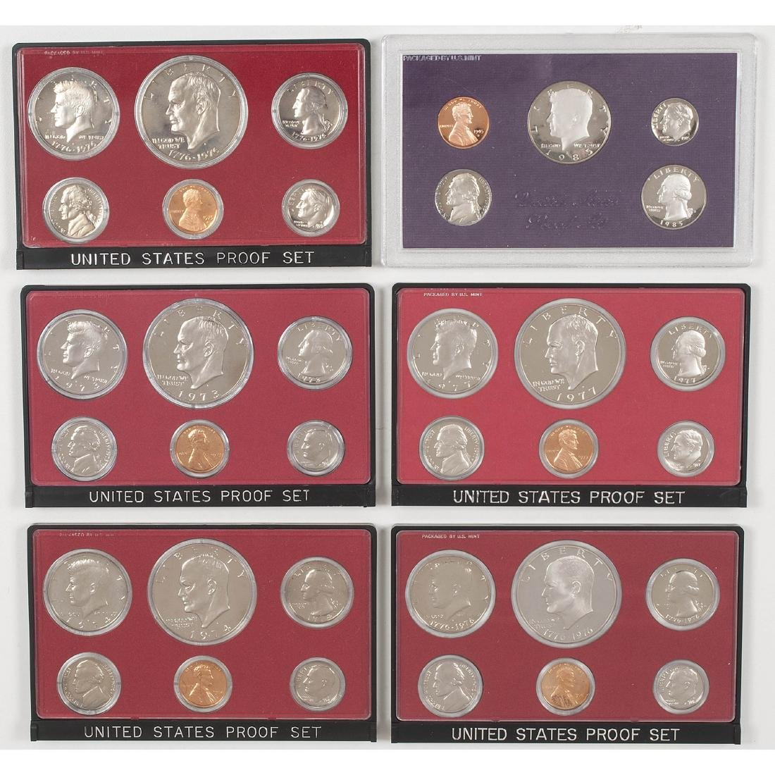 United States Proof Sets 1958-2004 - 7
