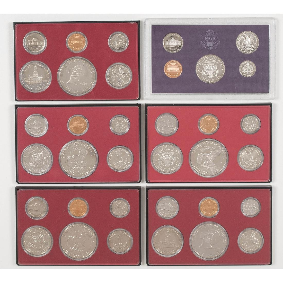 United States Proof Sets 1958-2004 - 8