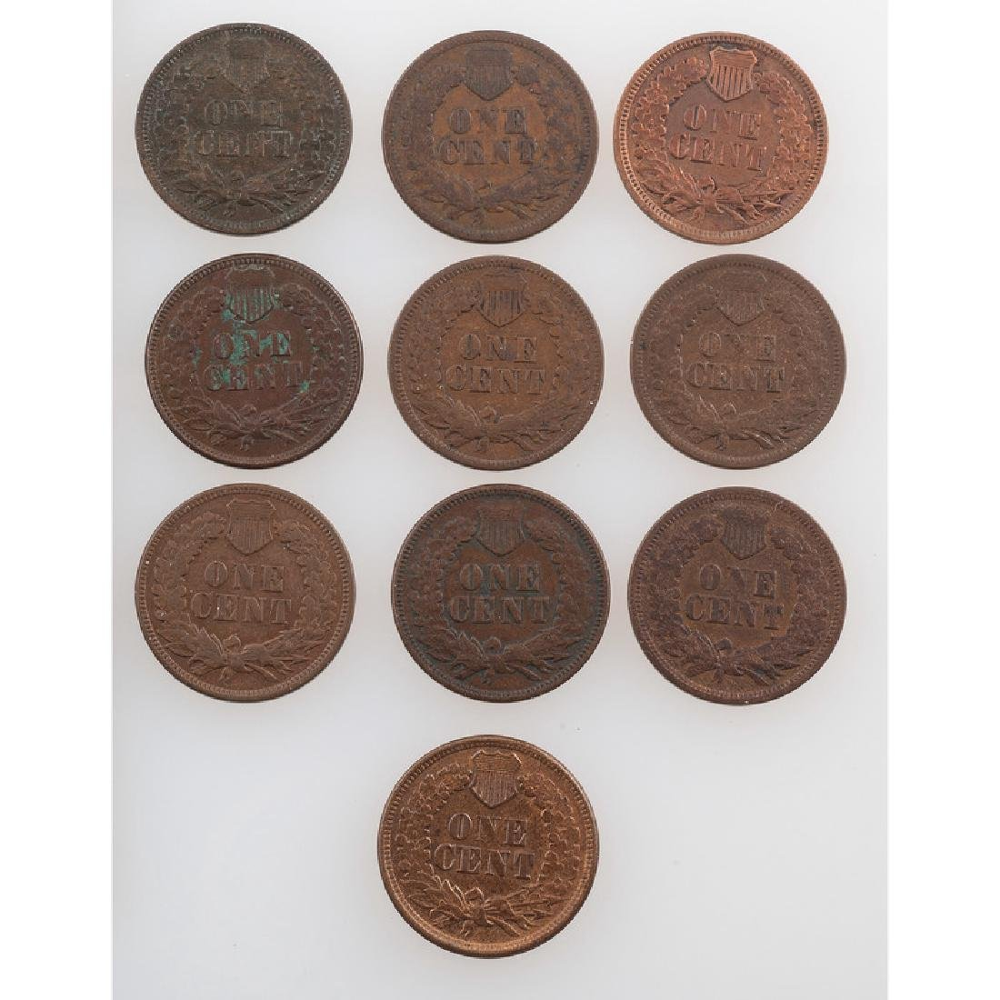 United States Indian Head Cents 1865-1873 - 2