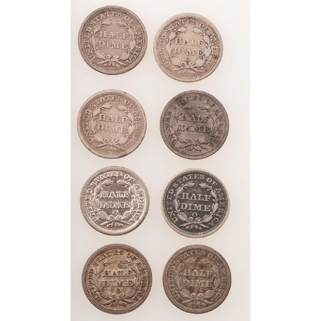 United States Liberty Seated Half Dimes 1851-1854 - 2