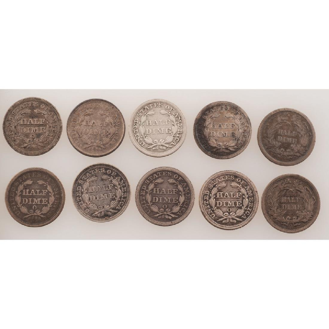 United States Liberty Seated Half Dimes 1856-1860 - 2