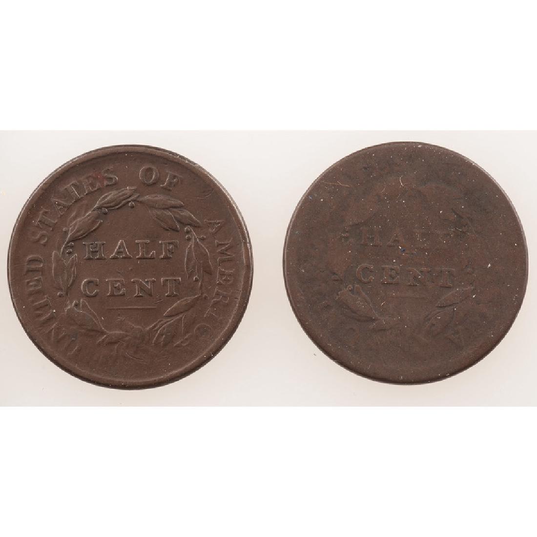 United States Half Cents 1809-1810 - 2