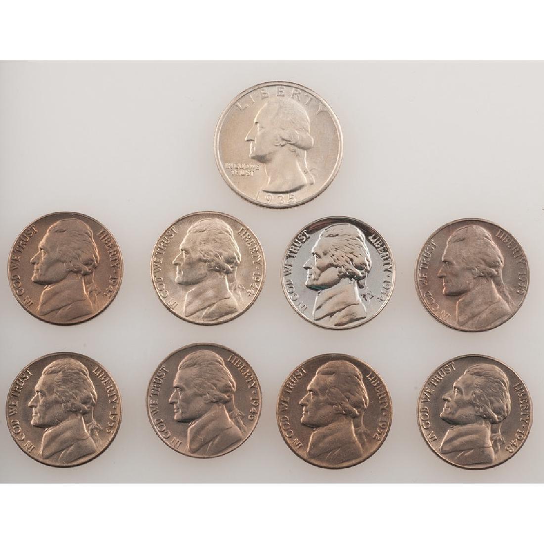 United States Jefferson Nickels PLUS - 3