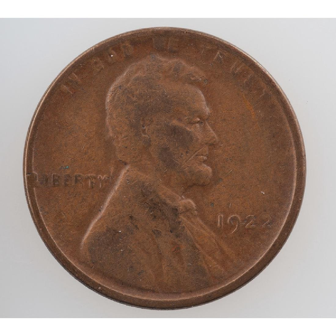 United States Lincoln Wheat Ears Reverse One Cent Piece