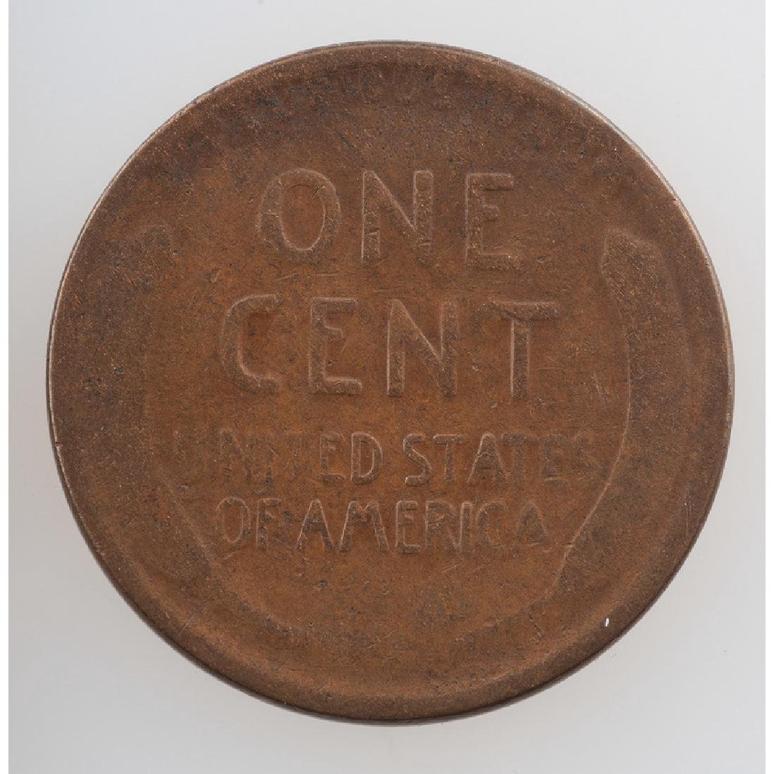 United States Lincoln Wheat Ears Reverse One Cent Piece - 2