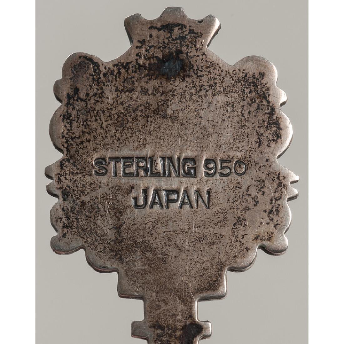 Sterling Souvenir Spoons - 4