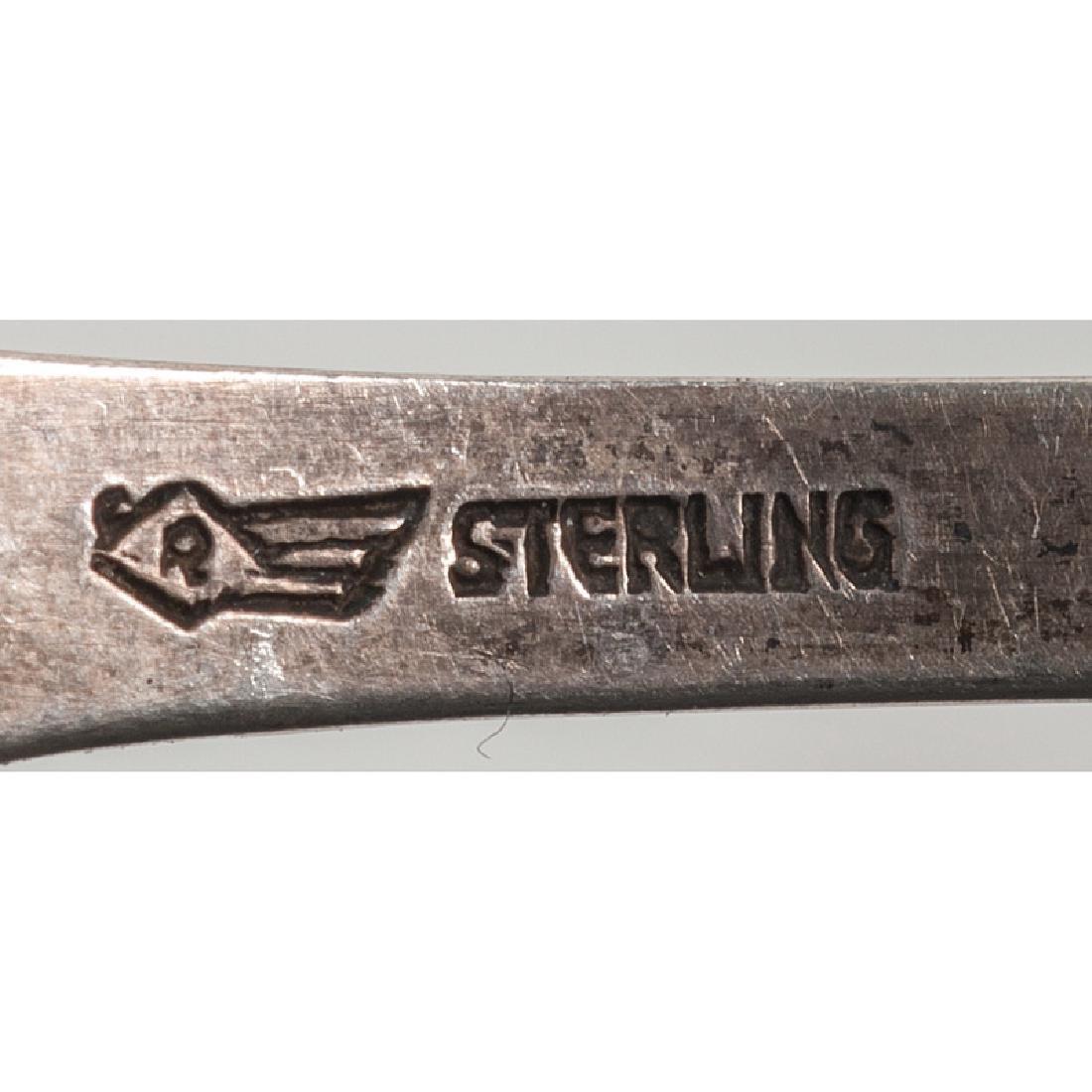 Sterling Souvenir Spoons - 6