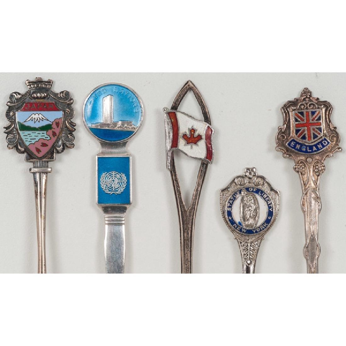 Sterling Souvenir Spoons - 7