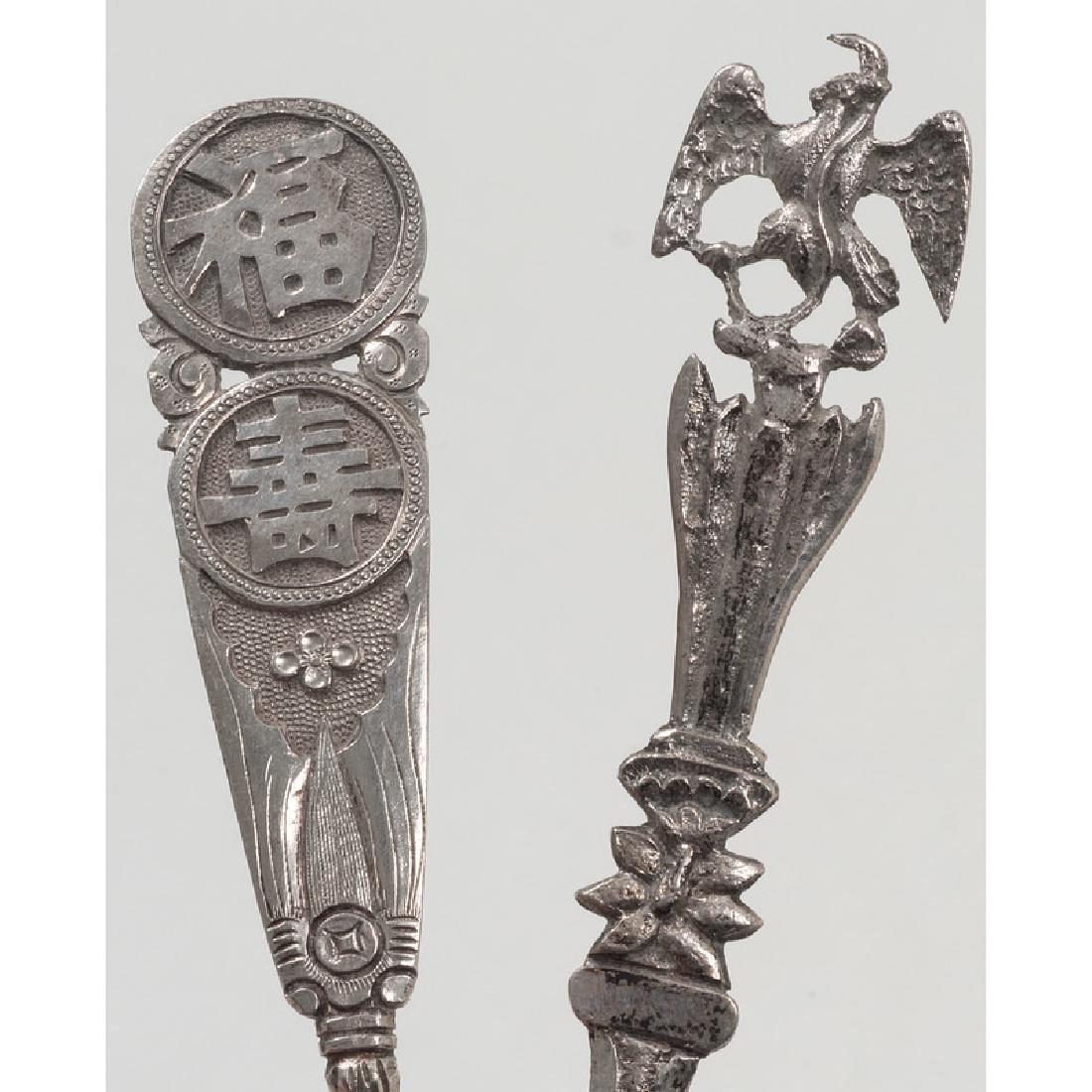 Assorted Souvenir Spoons - 8