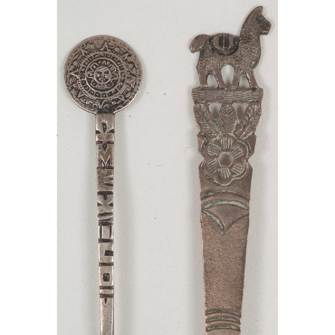 Assorted Souvenir Spoons - 9