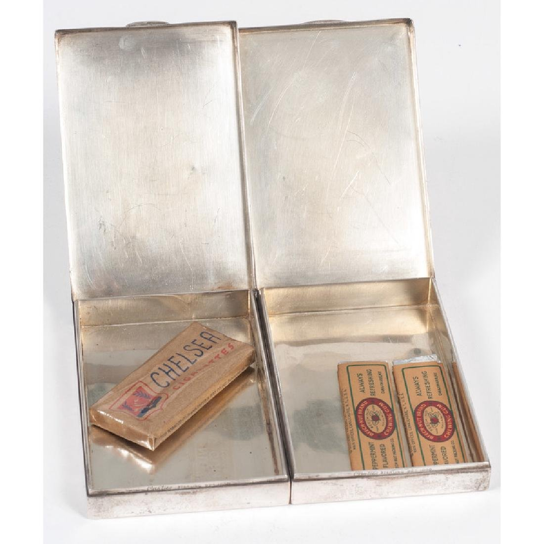 Cartier Sterling Silver Cigarette Boxes - 2