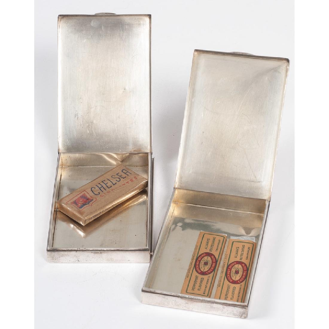 Cartier Sterling Silver Cigarette Boxes - 3