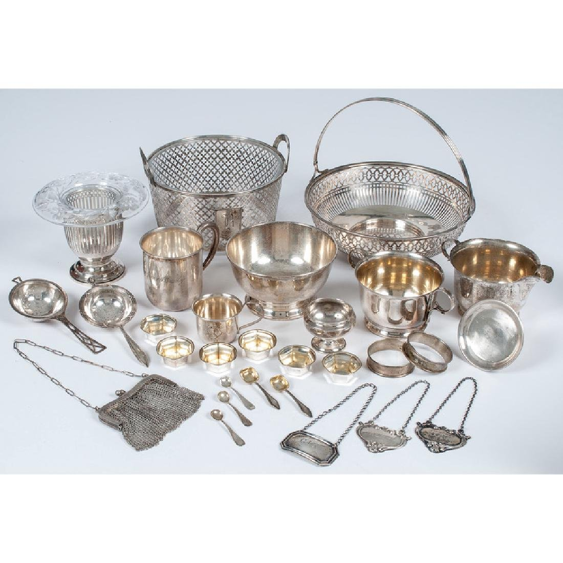 Sterling Silver Bowls and Other Accessories
