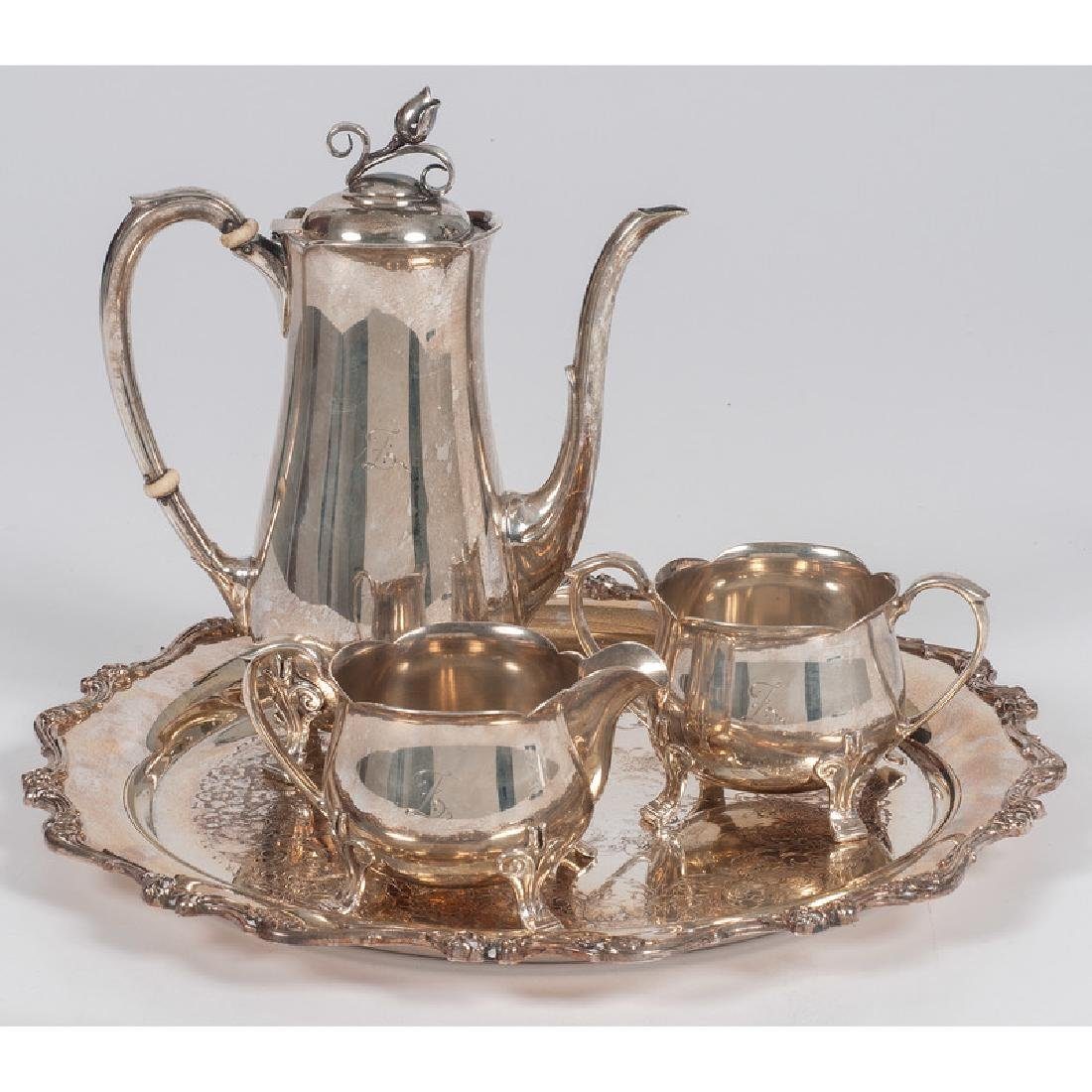 Frank W. Smith Sterling Coffee Service, Plus