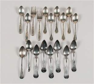 American Sterling and Coin Silver Teaspoons Plus