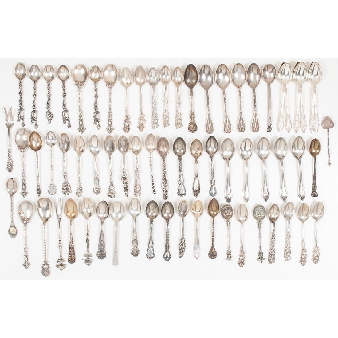 American Sterling Silver Demitasse Spoons