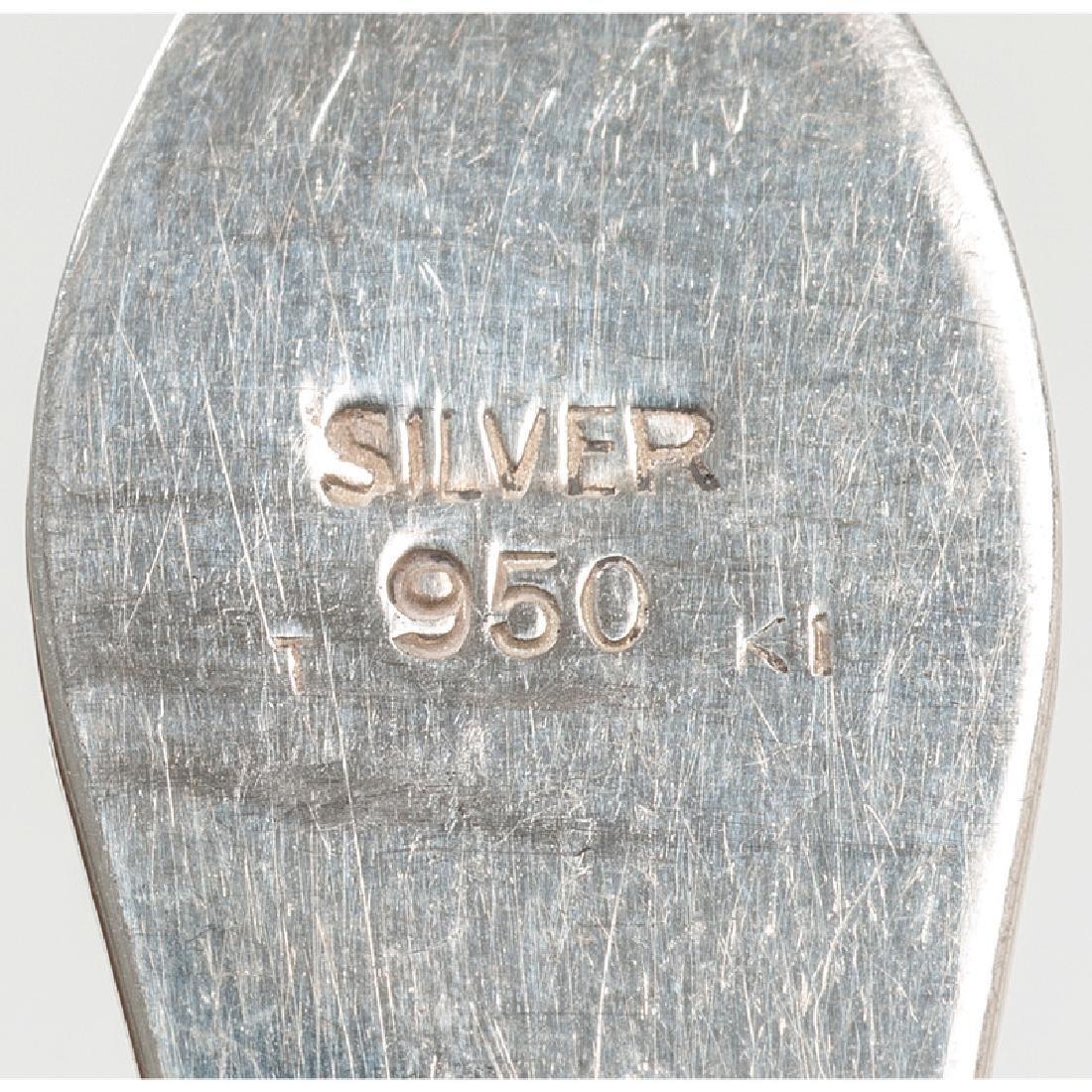 American Sterling Silver Demitasse Spoons - 5