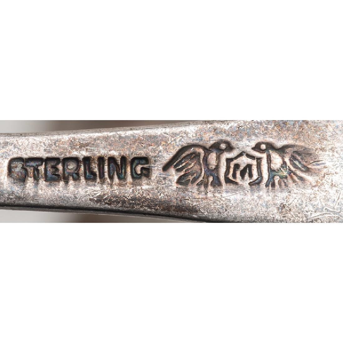 American Sterling Silver Souvenir Spoons - 6