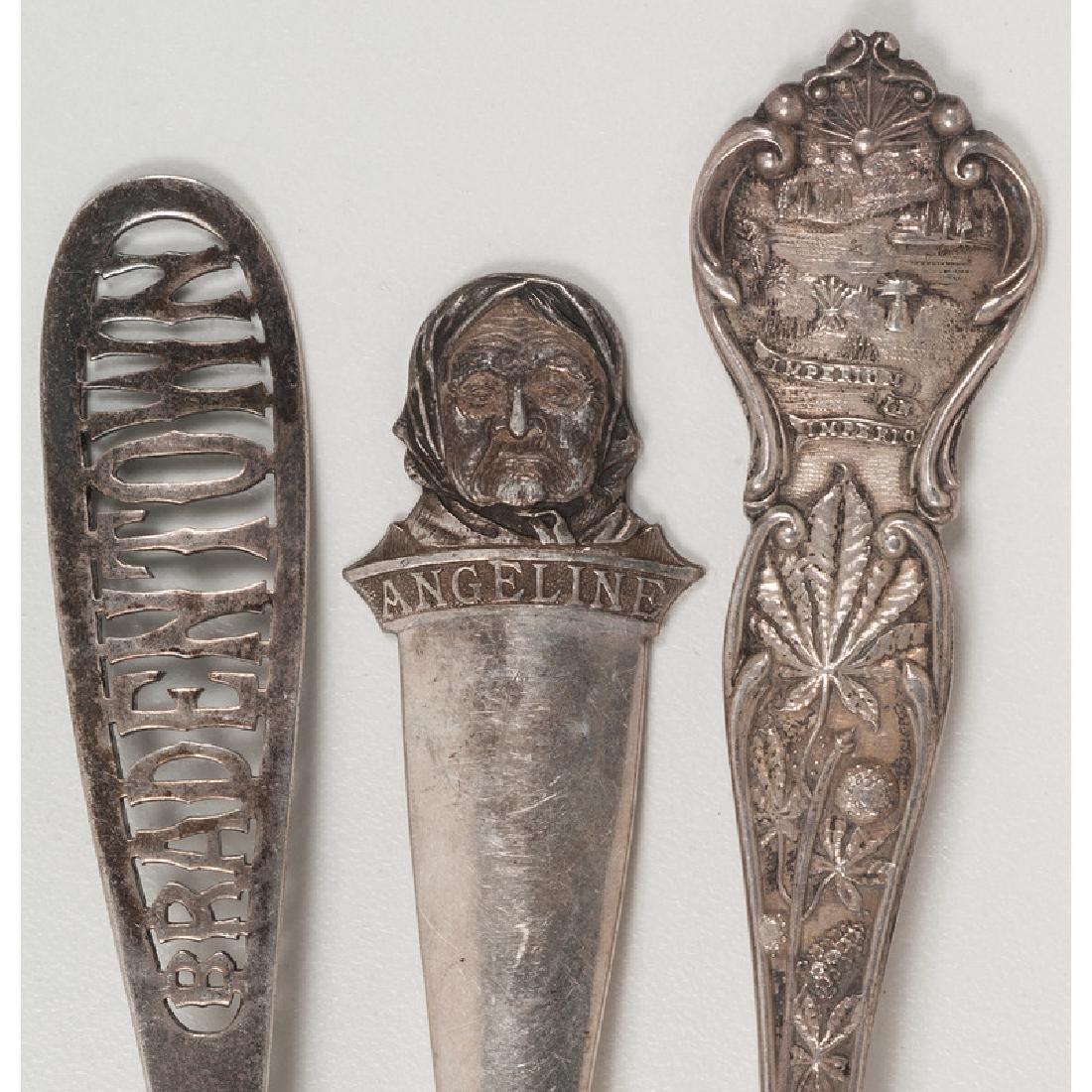 American Sterling Silver Souvenir Spoons - 7