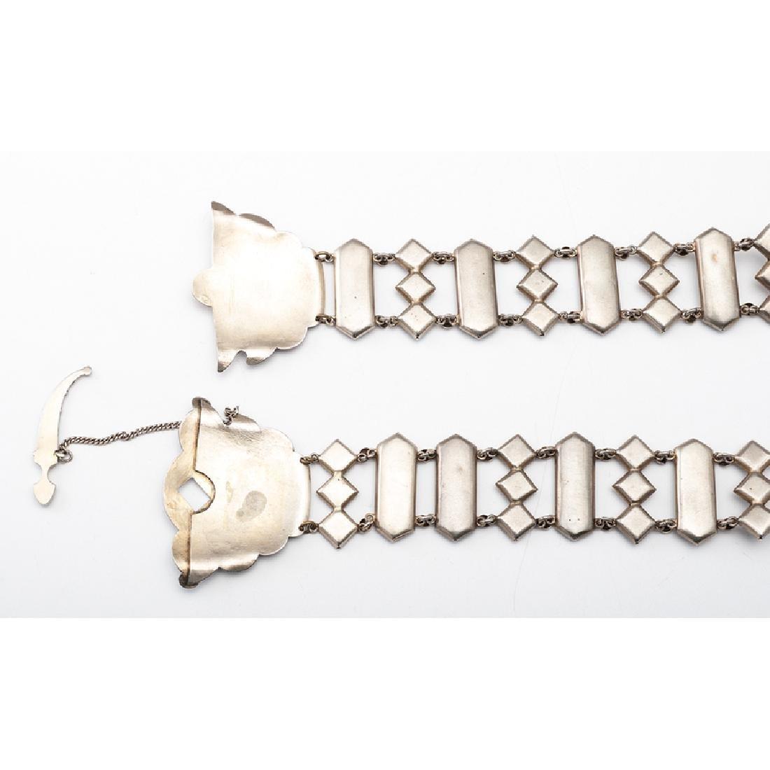 Russian Gilt Silver and Enamel Belt - 4