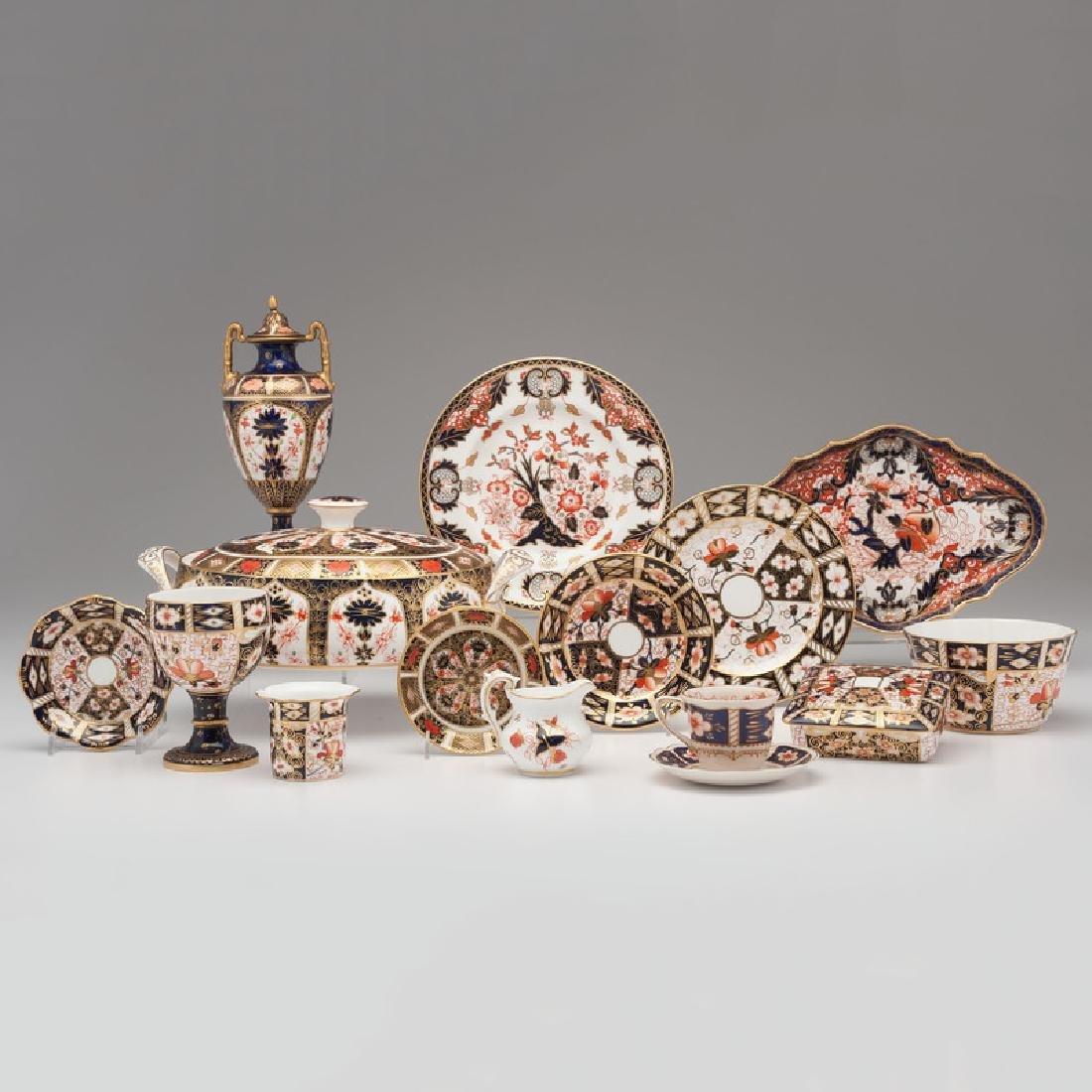 Royal Crown Derby Porcelain Tablewares, Plus