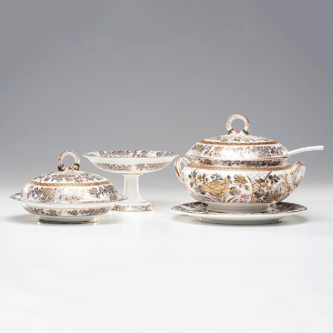 Wedgwood Table Wares in Ningpo Pattern, Plus