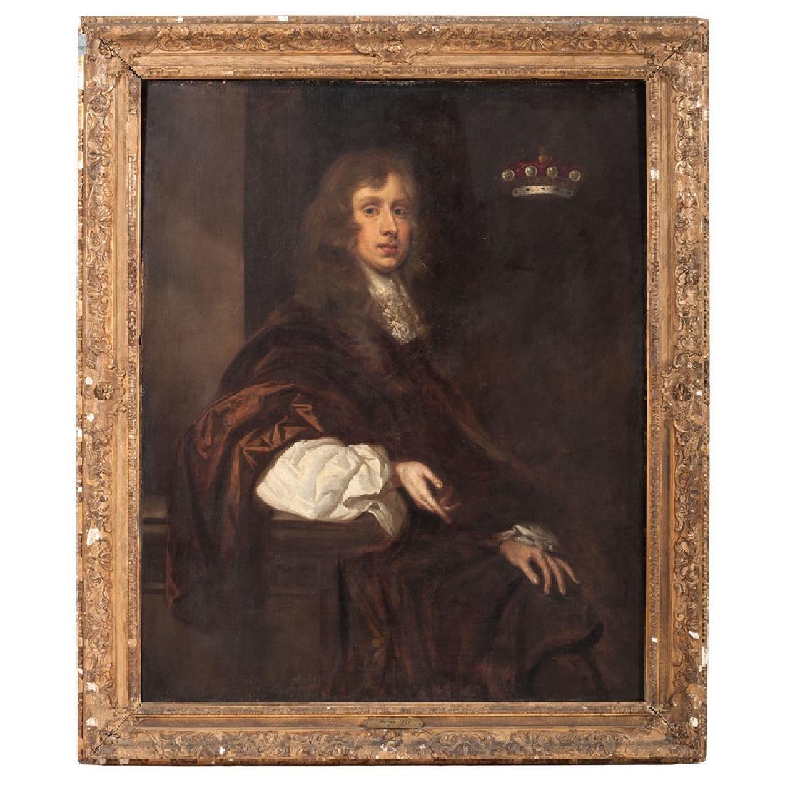 School of Peter Lely, Portrait of Sir Thomas Crew,
